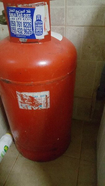 Used Gass cylinders two for sale ajman 350 dh in Dubai, UAE