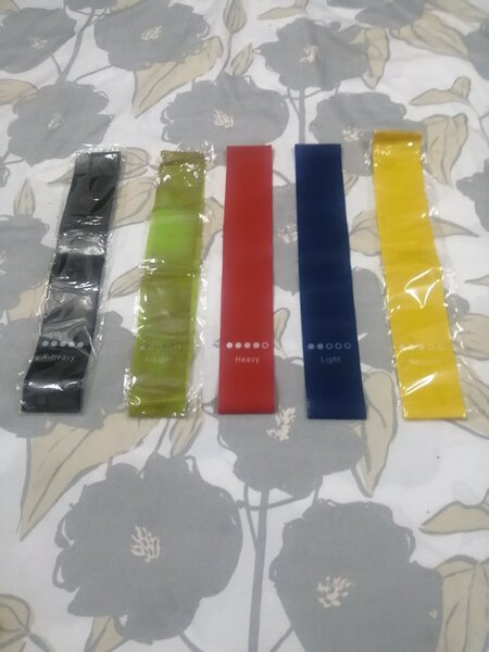 Used Resistance Bands Set For Sports exercise in Dubai, UAE