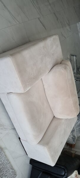Used Suede sofa from THE ONE in Dubai, UAE