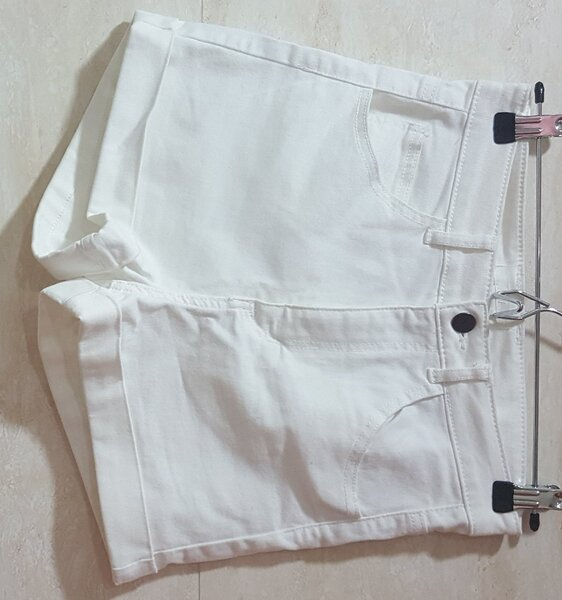 Used White shorts size 36 in Dubai, UAE