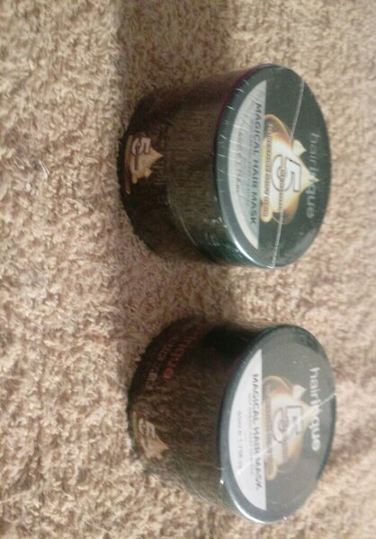 Used Hair mask magical treatment two pieces in Dubai, UAE