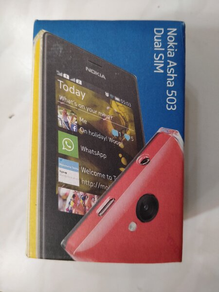 Used Nokia Asha 503 white color brand new 📞 in Dubai, UAE