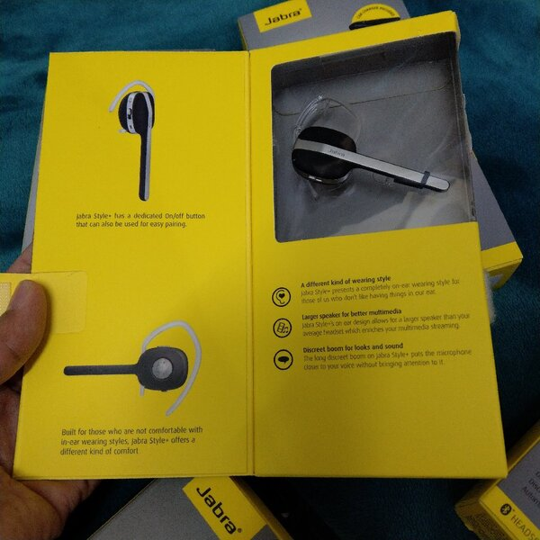 Used Original Jabra bluetooth headset in Dubai, UAE