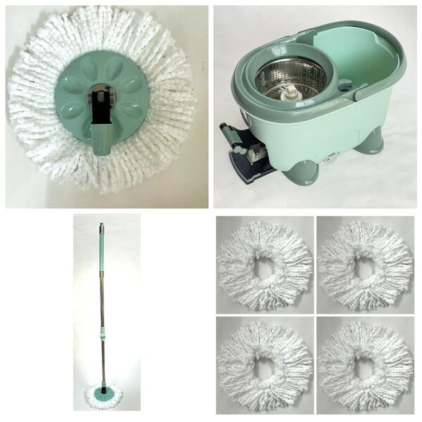 Used 360 Spin Mop Set With 5 Mop Heads in Dubai, UAE