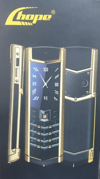 Used Luxary gold plated phone in Dubai, UAE