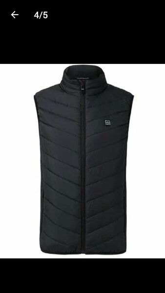Used Electric heated vest brand new in Dubai, UAE