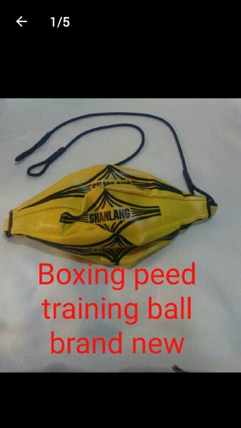 Used Boxing peed training ball new verystrong in Dubai, UAE