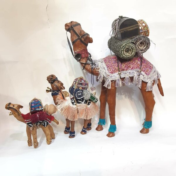 Used All 3 Siz🐫 Leather Loaded Camels ! ☃️🎁 in Dubai, UAE
