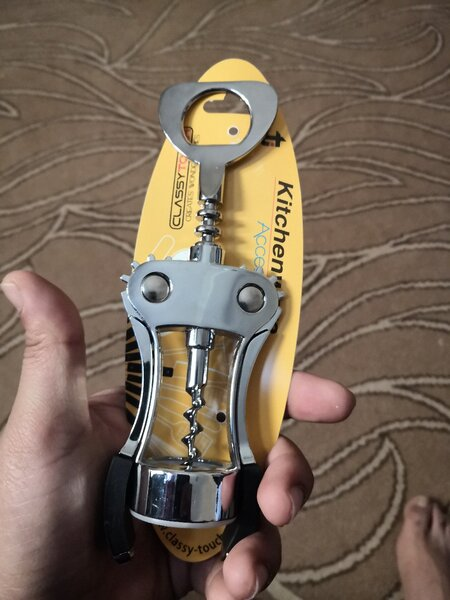 Used Cork bottle opener with pulley and lever in Dubai, UAE