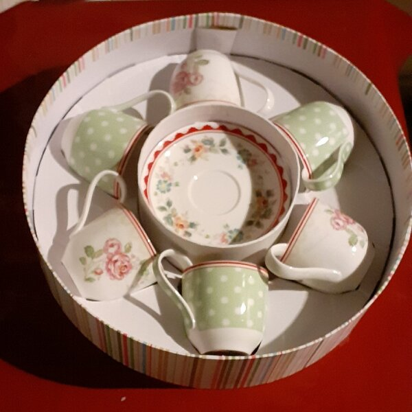 Used New Homes r us 6pc coffee/tea set in Dubai, UAE