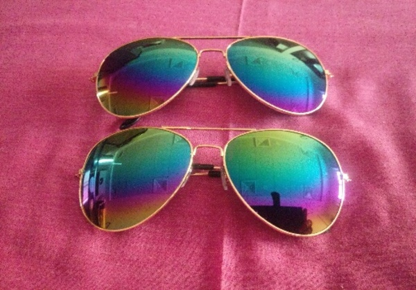 Used Sunglasses 1+1 free brand new in Dubai, UAE