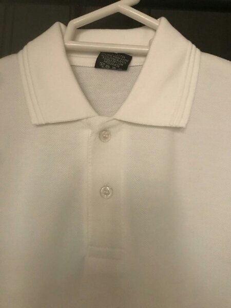 Used Men polo shirt 100%cotton jersey size L in Dubai, UAE