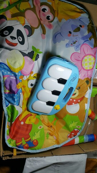 Used Baby puzzle music cribe in Dubai, UAE