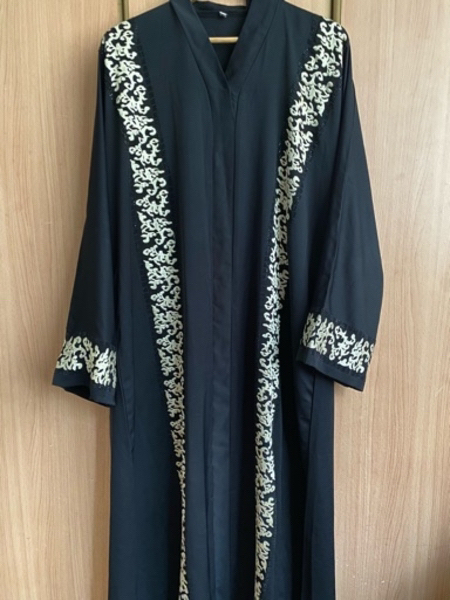 Used Custom made Abaya (size 60) in Dubai, UAE