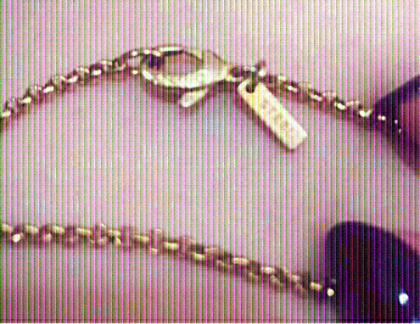 Used DKNY Necklace gold plated ♥️ in Dubai, UAE