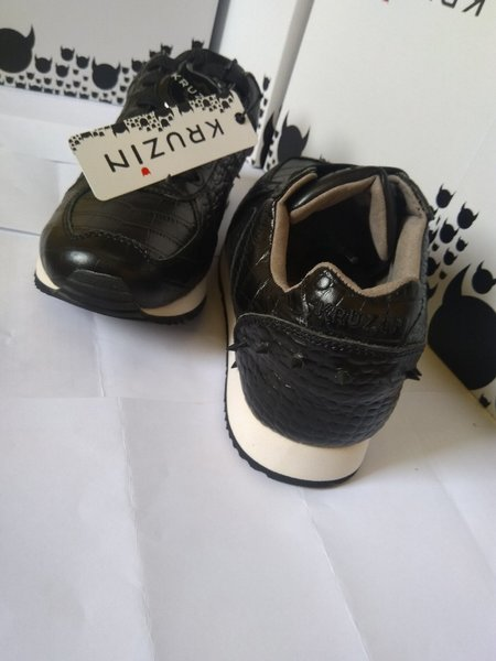 Used SHOES BOSTON BLACK CROCODILE in Dubai, UAE