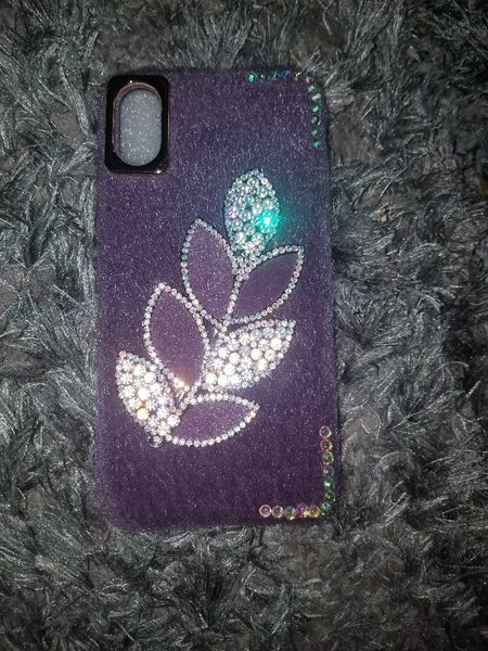 Used Iphon X fashion case for girls in Dubai, UAE
