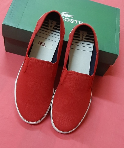 Used Lacoste Men's sneakers, 46 ! in Dubai, UAE