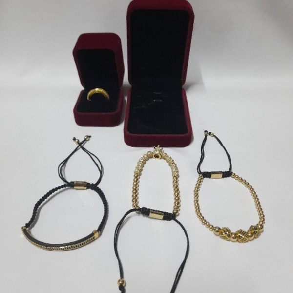 Used 3 Bracelets with Free Ring 💍 (New) in Dubai, UAE