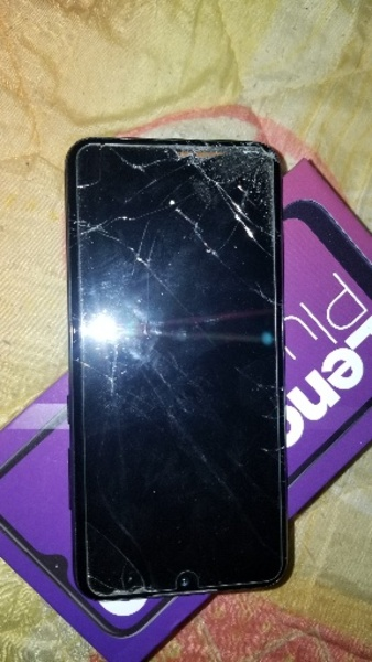 Used Lenovo k10+ 2020 model broken screen in Dubai, UAE