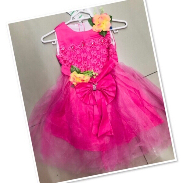 Used Pink kids Frock size 3-4 yr old ♥️ in Dubai, UAE