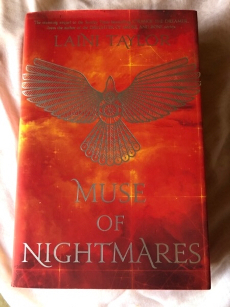 Used The Muse Of Nightmares by Laini Taylor in Dubai, UAE