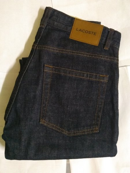 Used Pants-Lacoste black - W30/L34 repard in Dubai, UAE
