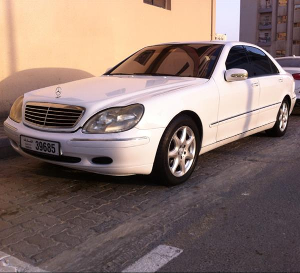 Used Mercedes-Benz  S320  LARGE , car is good condition , engine ,gear, ac , All perfect , no existent , original color,  car model 2000 . more information call 00971501234723   or  00971553616874 in Dubai, UAE