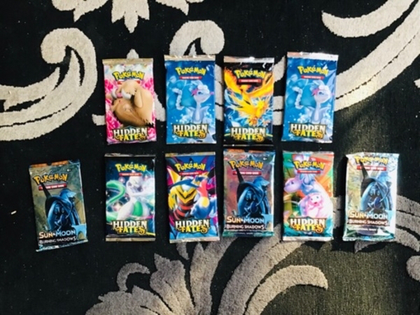 Used Pokémon cards all is included in Dubai, UAE
