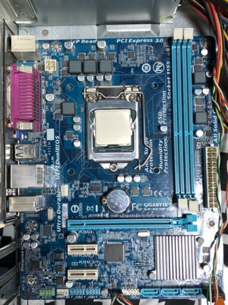 Used i3+motherboard in Dubai, UAE