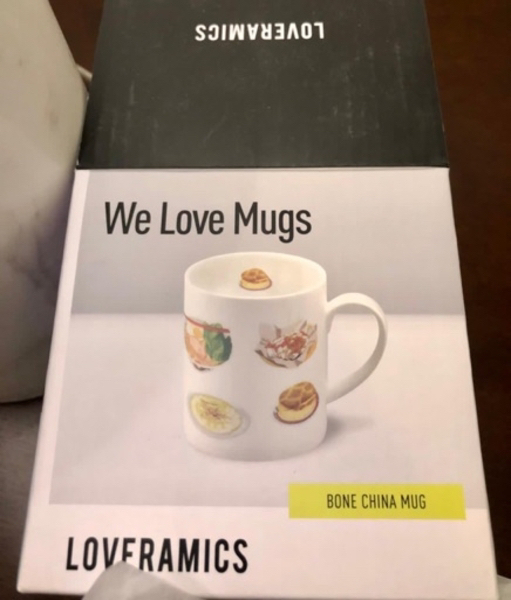 Used Swedish unique Mug new in box in Dubai, UAE