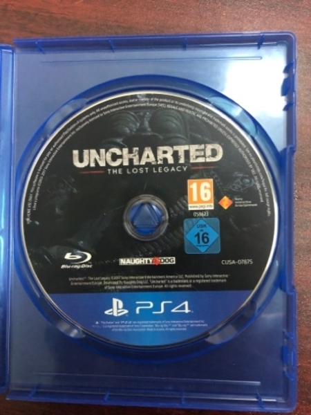 Used PS4 Game Uncharted The Lost Legacy in Dubai, UAE
