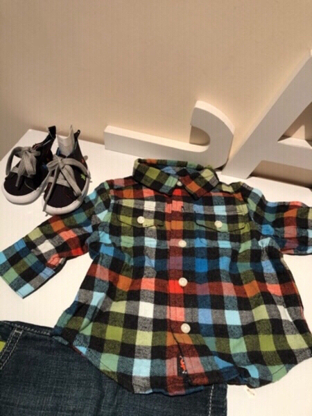 Used Baby boy outfit size 0-3 months in Dubai, UAE