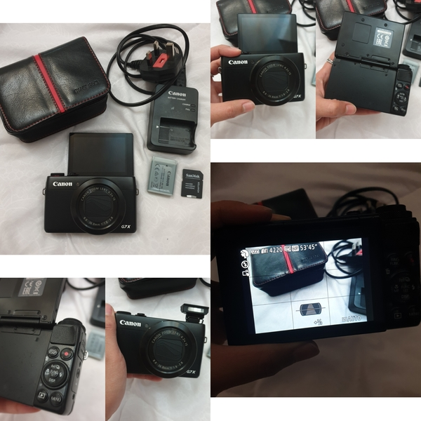 Used Canon G7X in Dubai, UAE