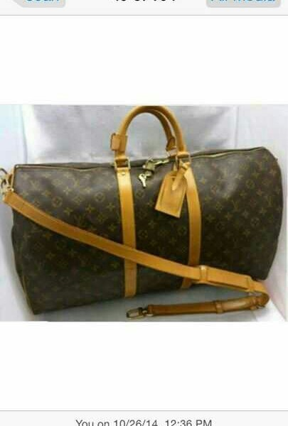 Used Authentic Louis Vuitton Keepall bandouliere 55 in Dubai, UAE
