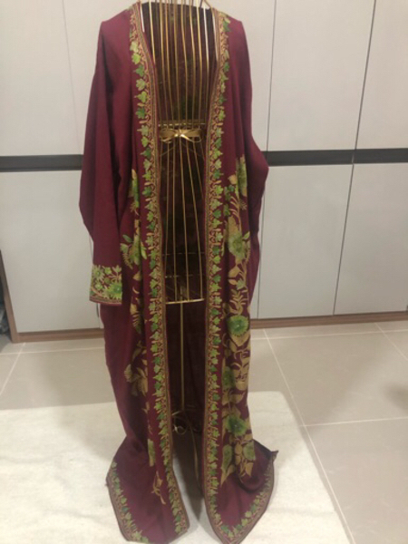 Used Never used cotton abaya cape with belt in Dubai, UAE