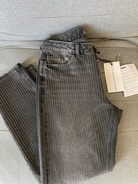 Used Sylvian Heach Size 27 Diamanté Jeans New in Dubai, UAE
