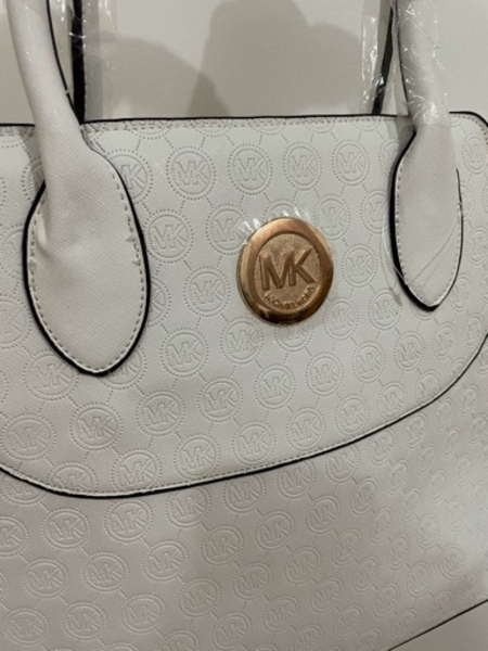 Used New Michael Kors White Bag with Strap in Dubai, UAE