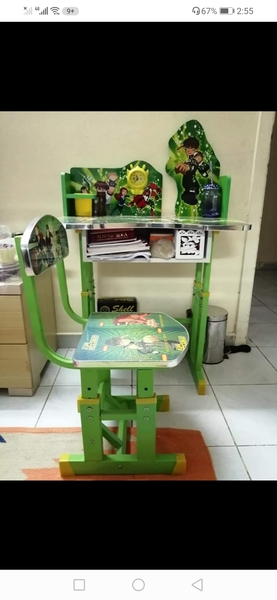 Used Kids Study Table and Chair in Dubai, UAE
