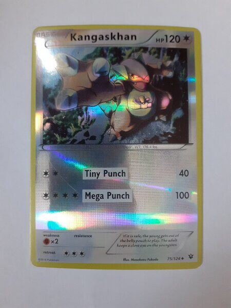 Used Kangaskhan Pokemon Card in Dubai, UAE