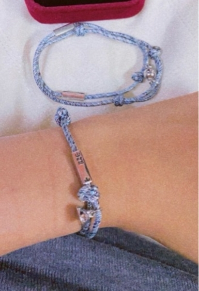 Used Magnetic attraction couple bracelet in Dubai, UAE