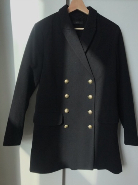 Used DIESEL Coat/ dress with gold bottoms in Dubai, UAE