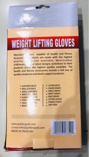 Used GNG Weight Lifting Gloves / Large 🔹 in Dubai, UAE