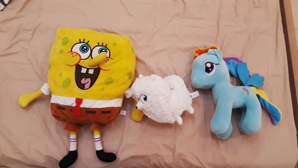 Used Movie themed plush dolls each in Dubai, UAE