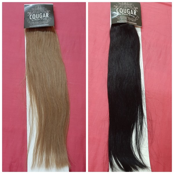 Used Cougar clip in remy hair 2 sets in Dubai, UAE