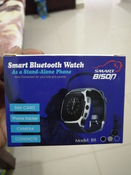Used Smart Bison smart watch with sim slot in Dubai, UAE