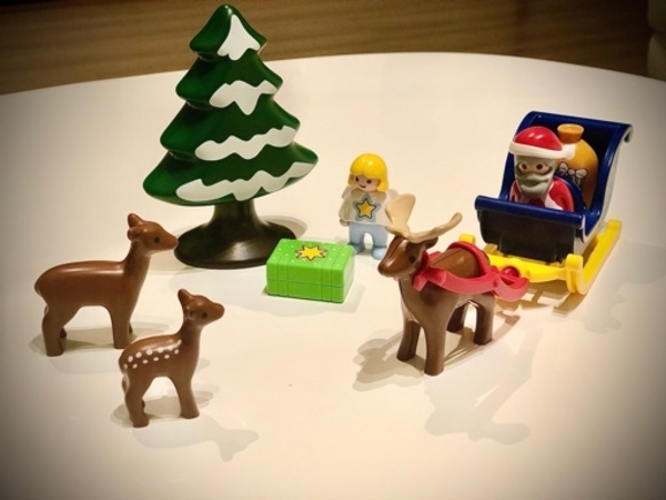 Used PlayMobil Christmas set in Dubai, UAE