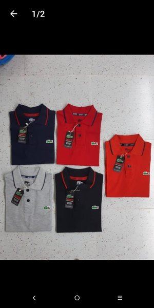 Used Lacoste polo t-shirts Promo in Dubai, UAE
