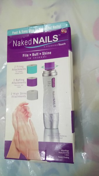 Used Naked nails by finishing Touch in Dubai, UAE