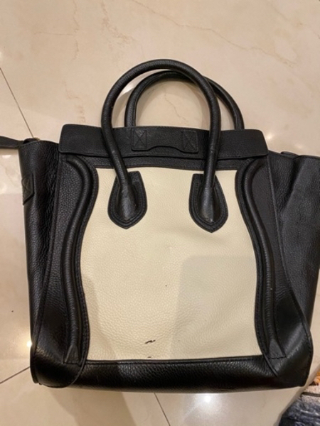 Used Black white Celine handbag in Dubai, UAE